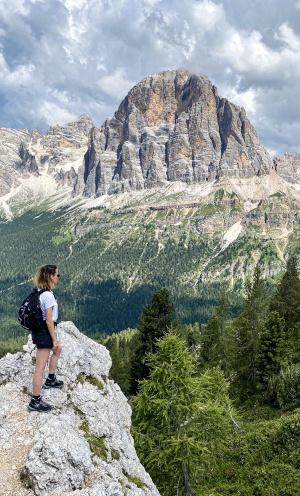 amandine randonnee montagne