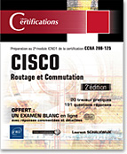 Photo du livre cisco routage et commutation preparation au 2e module icnd1 de la certification CCNA 200 125 2e edition