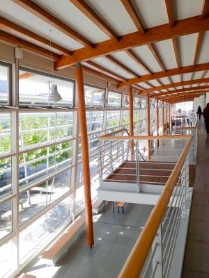 À l'intérieur de l'Université de Rosenheim