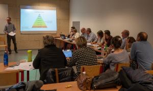 Photo des participants à la formation CLIL de la HERS - janvier 2020