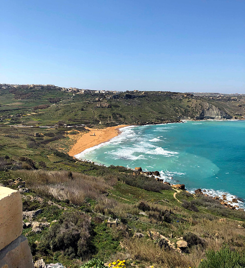 Photo d'une côte de l'île de Malte - AD HERS 2019