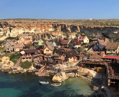 Photos des habitations sur la côte de l'île de Malte - AD HERS 2019