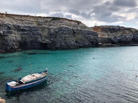 Photo de la côte de l'île de Malte - AD HERS 2019
