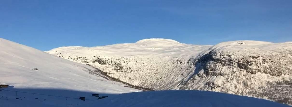 Photo des montagnes de Norvège