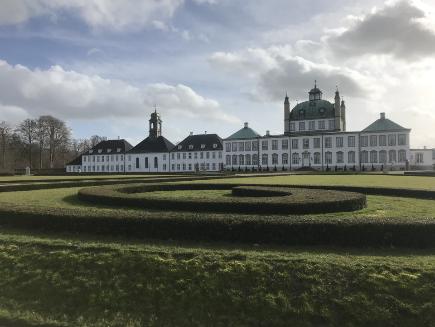 Photo du Château de Kronborg à Helsingor - Mer Baltique