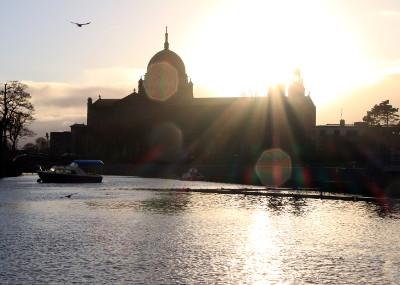 Photo de la Cathédrale de Galway au coucher du jour