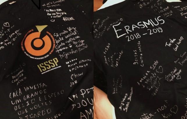 Logo de l'École où Vanessa a fait ses études Erasmus+