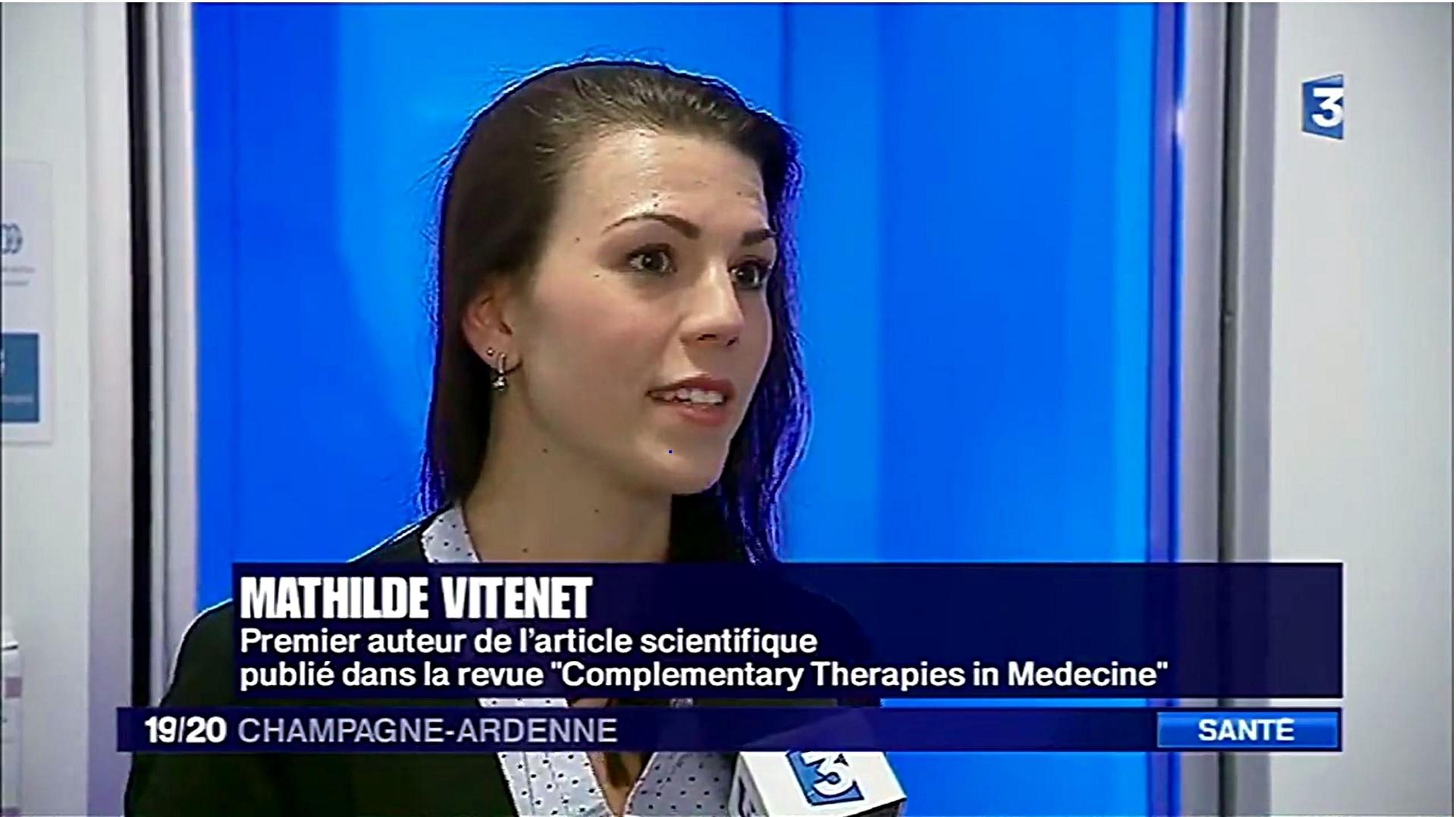 Mathilde Vitenet - Reportage de France 3