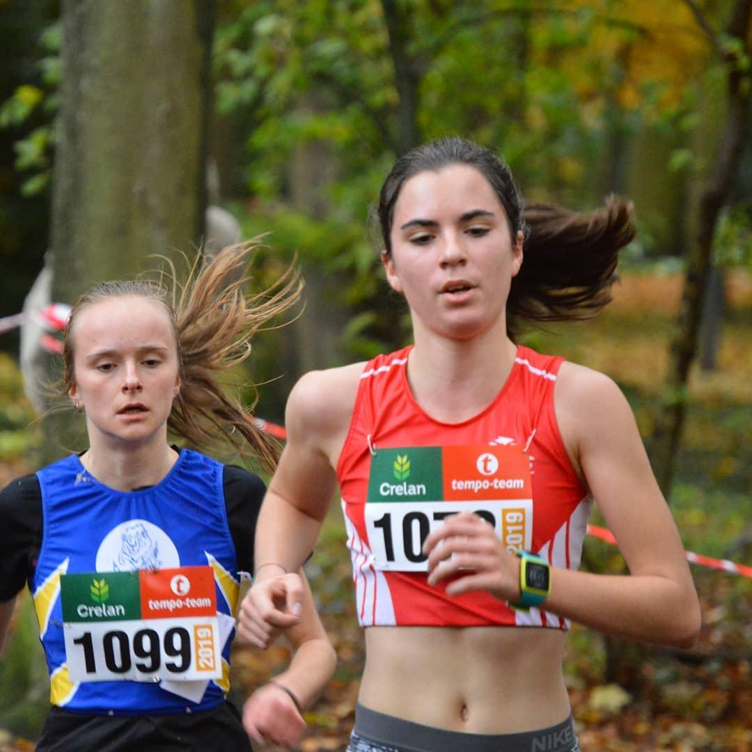 ange branders championne nationale interuniversitaire 2018 course