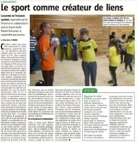 Plus de 400 jeunes à la journée de l'inclusion sportive