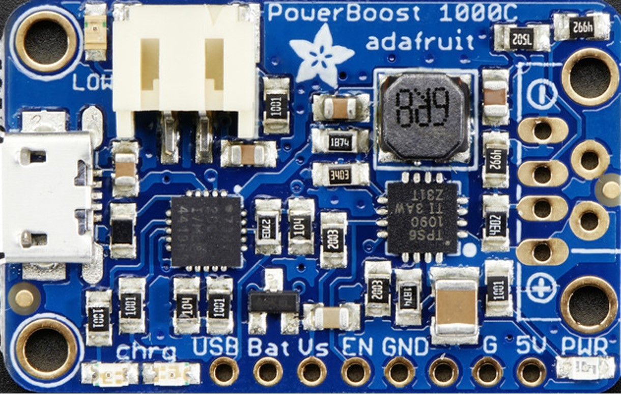 Circuit imprimé développé par les étudiants ingénieurs industriels spécialisés en mécatronique