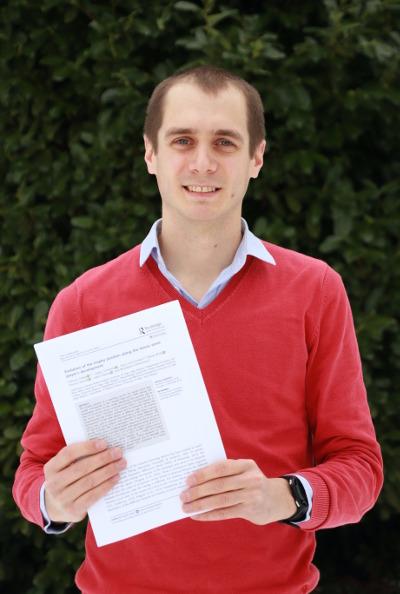 Photo de François Tubez, Dr en Sciences de la Motricité et enseignant en kinéstihérapie à la HERS