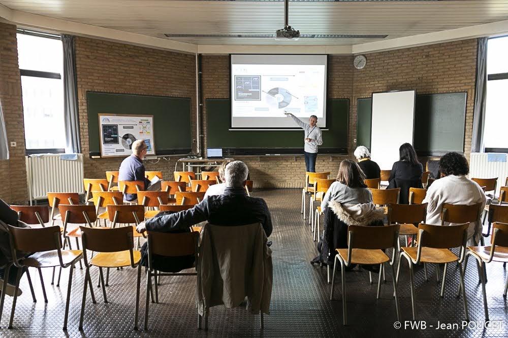 Photo de la présentation de Luc Canautte, Coordinateur institutionnel de la HERS