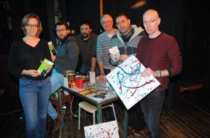 La troupe de l'ISMA répète la pièce de théâtre Retour vers le culture