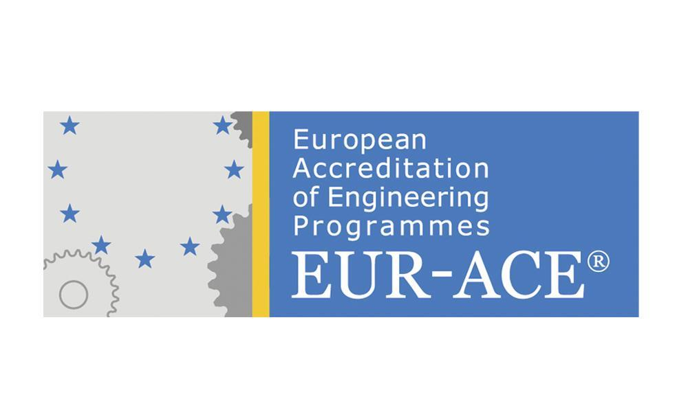 Logo de l'EUR-ACE : European Accreditation of Engineering Programmes