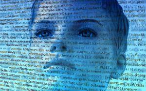 Photo d'une femme robot - Intelligence artificielle